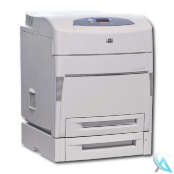 HP Color LaserJet 5500TN gebrauchter Farblaserdrucker mit Zusatzpapierfach