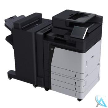 HP Color LaserJet Enterprise flow MFP M880z gebrauchte Kopierer A2W75A mit Finisher A2W82A