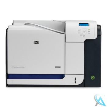 HP Color Laserjet CP3525N gebrauchter Farblaserdrucker