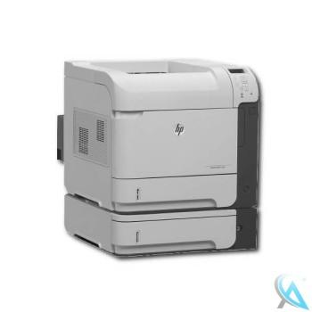HP Laserjet Enterprise 600 M601dtn gebrauchter Laserdrucker mit neuem Toner