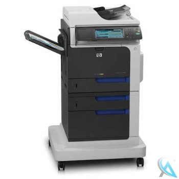 HP Laserjet CM4540F MFP CC420A gebrauchtes Multifunktionsgerät mit neuem Tonersatz
