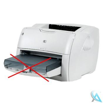 HP LaserJet 1300N Laserdrucker mit neuem Toner OHNE vorder Papierablage
