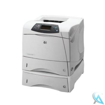 HP Laserjet 4300DTN gebrauchter Laserdrucker mit neuem Toner