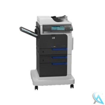 HP Color LaserJet Enterprise CM4540fskm MFP CC421A gebrauchtes Multifunktionsgerät mit Untergestell CC422A