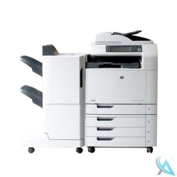 HP Color LaserJet CM6030 MFP gebrauchte Kopierer mit Finisher Q6998A