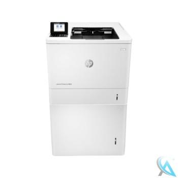 HP LaserJet Enterprise M608N gebrauchter Laserdrucker mit L0H18A Zusatzpapierfach