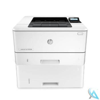 HP LaserJet 400 M402DN gebrauchter Laserdrucker  mit Papierfach D9P29A