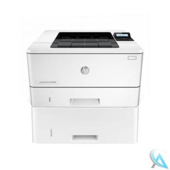 HP LaserJet Pro M402DNE gebrauchter Laserdrucker mit Papierfach D9P29A