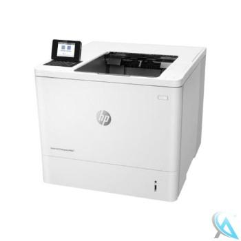HP LaserJet Enterprise M607dn gebrauchter Laserdrucker mit neuem Toner