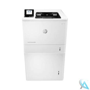 HP LaserJet Enterprise M607dn gebrauchter Laserdrucker mit Papierfach L0H18A