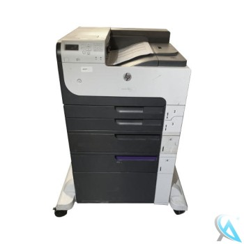HP LaserJet Enterprise 700 M712DTN gebrauchter Laserdrucker auf Rollen