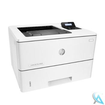 HP LaserJet Pro M501DN gebrauchter Laserdrucker mit neuem Toner