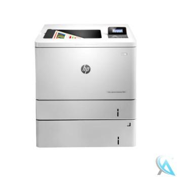 HP Color LaserJet Enterprise M553dn gebrauchter Farblaserdrucker mit Zusatzpapierfach B5L34A