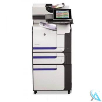 HP LaserJet Enterprise 500 Color MFP M575c Multifunktionsgerät mit Zusatzpapierfach und Unterschrank