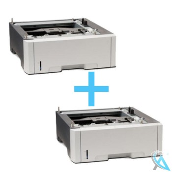 2er Pack HP gebrauchtes Zusatzpapierfach Q5985A für Color LaserJet 3600 3800 cp3505