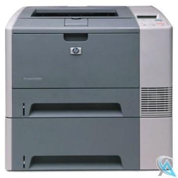 HP Laserjet 2420DTN gebrauchter Laserdrucker mit neuem Toner