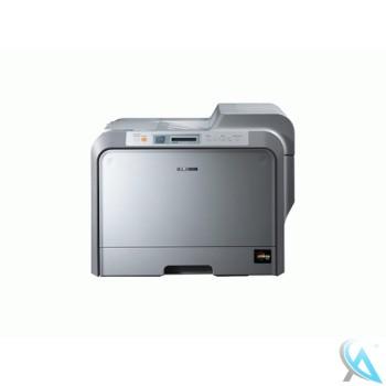 Samsung CLP-510N gebrauchter Farblaserdrucker mit neuer Trommel