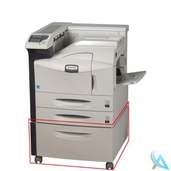 Kyocera FS-9530DN gebrauchter Laserdrucker auf Rollen mit PF-750