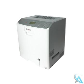 Lexmark C734N gebrauchter Farblaserdrucker mit neuem Tonersatz