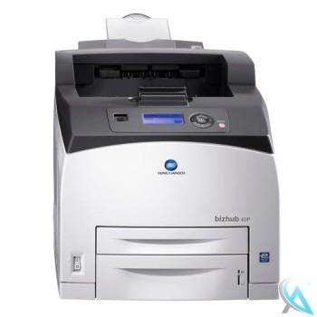 Konica Minolta bizhub 40P gebrauchter Laserdrucker OHNE Ablage