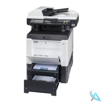 Kyocera FS-C2026MFP Multifunktionsdrucker mit Zusatzpapierfach PF-520