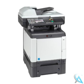 Kyocera FS-C2626 MFP gebrauchtes Multifunktionsgerät mit Zusatzpapierfach PF-520