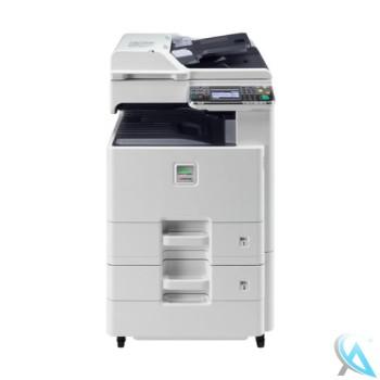 Kyocera FS-C8020MFP gebrauchtes Multifunktionsgerät mit Papierfach PF-470 mit vier neuen Trommeln
