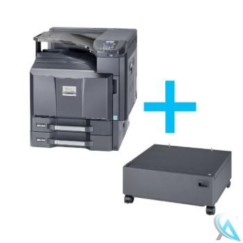 Kyocera FS-C8650DN Farblaserdrucker mit Unterschrank CB-730