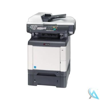 Kyocera Ecosys M6526cidn MFP gebrauchtes Multifunktionsgerät mit Zusatzpapierfach PF-520