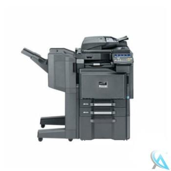 Kyocera TASKalfa 3051ci gebrauchter Kopierer mit Unterschrank mit Finisher DF-770 mit Tacker OHNE Locher OHNE Booklet