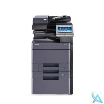 Kyocera TASKalfa 3252ci gebrauchter Kopierer auf Rollen mit Unterschrank