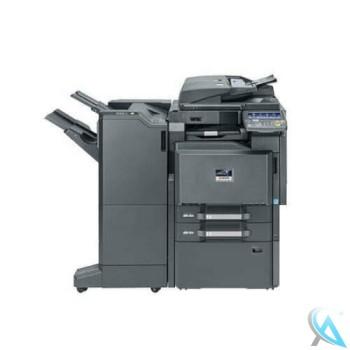 Kyocera TASKalfa 3501i gebrauchter Kopierer mit Unterschrank und Finisher DF-790 Tacker