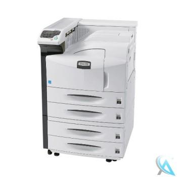 Kyocera FS-9130DN gebrauchter Laserdrucker auf Rollen mit PF-700