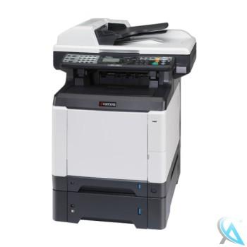 Kyocera FS-C2126MFP gebrauchtes Multifunktionsgerät mit Zusatzpapierfach PF-520