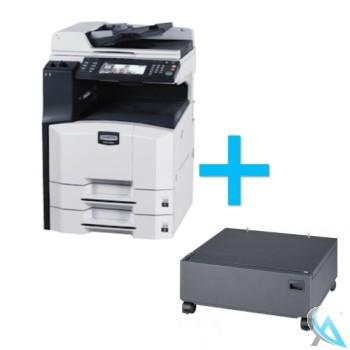 Kyocera KM-3060 Kopierer mit Unterschrank CB-73