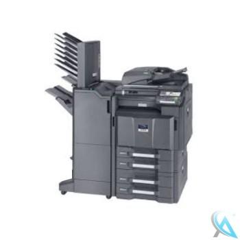 Kyocera TASKalfa 4550ci gebrauchter A3 Kopierer auf Rollen mit PF-730 und DF-790 mit Tacker und Mailbox MT-730