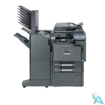 Kyocera TASKalfa 3501i gebrauchter Kopierer mit Unterschrank und Finisher DF-790 Tacker MT-730