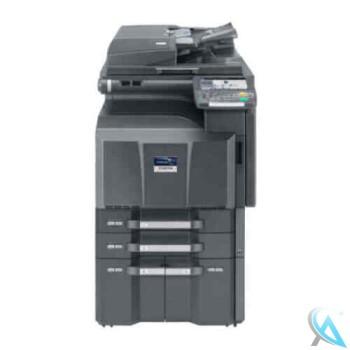 Kyocera TASKalfa 4550ci gebrauchter A3 Kopierer auf Rollen mit Papierfach PF-740
