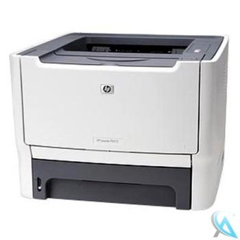 HP Laserjet P2015N gebrauchter Laserdrucker mit neuem Toner