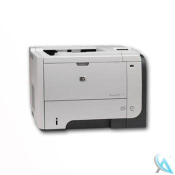 HP LaserJet Enterprise P3015n gebrauchter Laserdrucker mit neuem Toner