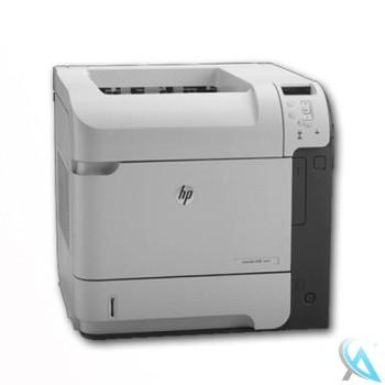 HP Laserjet Enterprise 600 M601n gebrauchter Laserdrucker ohne Toner