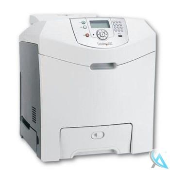Lexmark C534N gebrauchter Farblaserdrucker mit neuem Tonersatz
