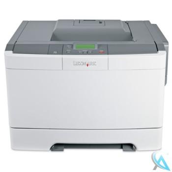 Lexmark C544DN gebrauchter Farblaserdrucker mit neue Toner