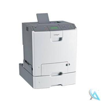 Lexmark C736dn gebrauchter Farblaserdrucker mit Zusatzpapierfach 27S2650