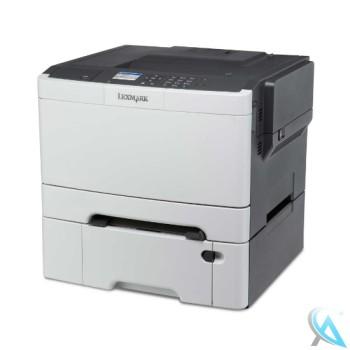 Lexmark CS410dn gebrauchter Farblaserdrucker mit Zusatzpapierfach 38C0626