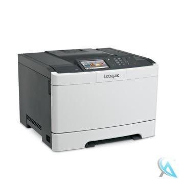 Lexmark CS510de gebrauchter Farblaserdrucker
