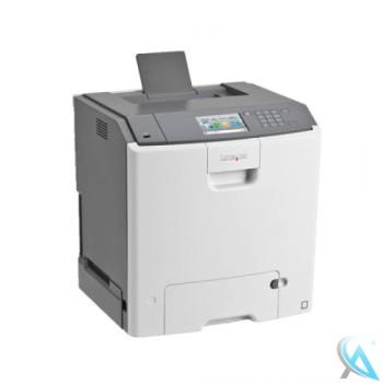 Lexmark CS748de gebrauchter Farblaserdrucker
