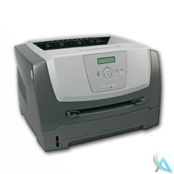 Lexmark E352D Laserdrucker mit neuem Toner und Trommel