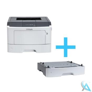 Lexmark MS410DN gebrauchter Laserdrucker mit Papierfach 35S0267