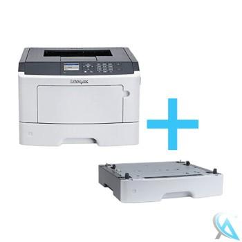 Lexmark MS610DN gebrauchter Laserdrucker mit Papierfach 35S0267